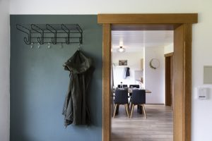 wardrobe with view to living room