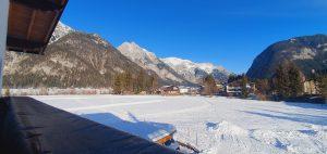 Aussicht Ost-Balkon Winter